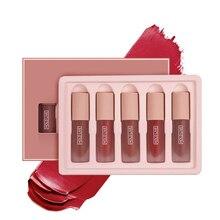 Moisturizing Matte Lip Gloss 5 pcs Set