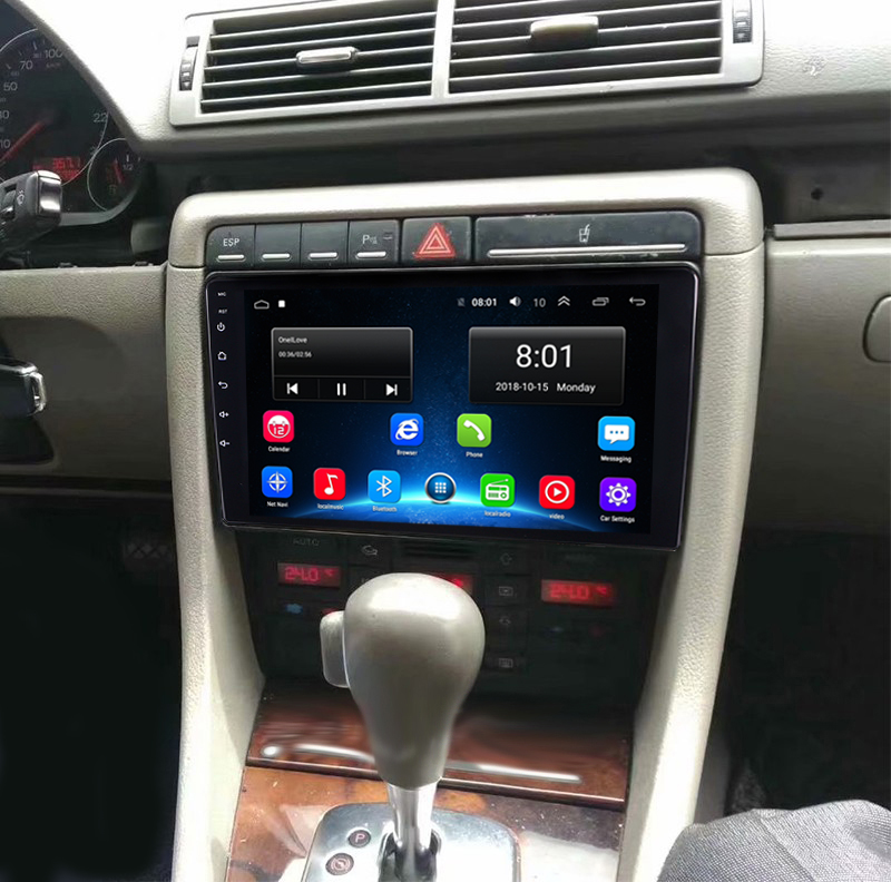 "9"" 2G RAM Android Car DVD GPS For Audi A4 S4 B6 B7/RS4 2002 2003 2004 2005 2006 2007 2008 Radio audio stereo 4G bluetooth"
