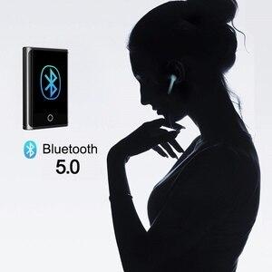 Image 5 - RUIZU M2 Bluetooth MP3 נגן מלא מגע מסך 8GB 16GB נייד אודיו נגן מוסיקה עם FM רדיו הקלטה ספר אלקטרוני נגן וידאו