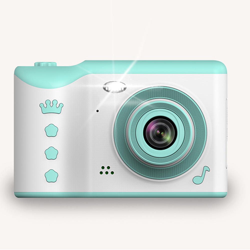 2.8 Inch Digital Cameras Portable Kids Touch Screen High Definition Dual Lens Travel Front Rear Recording Large Capacity Mini
