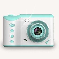 2,8 Zoll Digital Kameras Tragbare Kinder Touch Screen High-Definition Dual Objektiv Reise Vorne Hinten Aufnahme Großer Kapazität Mini