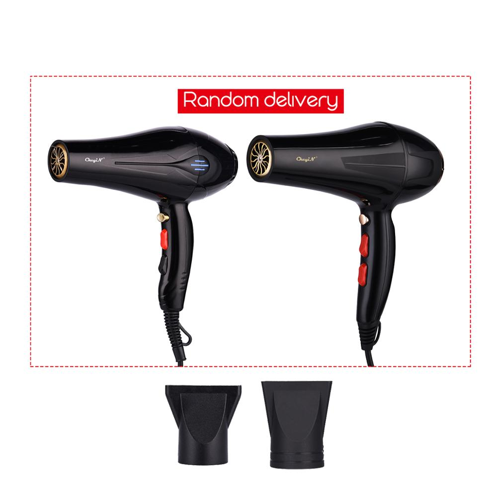 Image 5 - 5000W Negative Ion Hair Dryer Professional Blue Light Anion Blow Dryer Salon Hair Styling Hairdryer 2 Speed 3 Heat Settings 31Hair Dryers   -