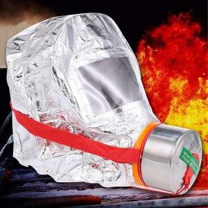 Image 4 - Fire Eacape Gezichtsmasker Zelfreddingstoestellen Respirator Gas Masker Rook Beschermende Gezicht Cover Persoonlijke Vluchtweg Kap