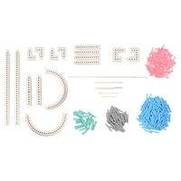 Multi function Craft Yarn 5000 100 Knitting Board Knit Weave Loom Kit DIY Tool
