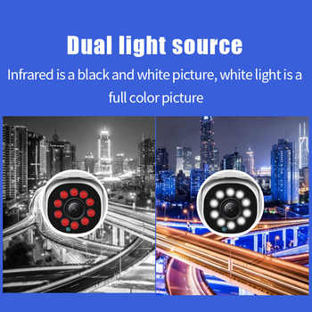 1080P PTZ Wifi IP Camera Outdoor Tracking Camera 10LEDs Night Vision Wireless Camera H.265 ONVIF Audio 2MP Security CCTV Camera