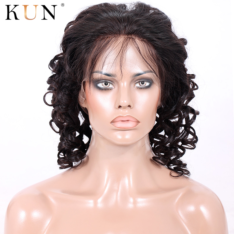 Lace Front Human Hair Wigs Spiral Curly 13x6 Short Bob Lace Front Wigs Pre Plucked With Baby Hair Remy 150 180 Density Lace Wig