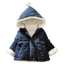 2019 kids winter jacket Baby Girl  Coat Thicken Warm Toddler Clothes Long Sleeve Hooded Coats For Girl Baby Clothing brand baby infant girls fur winter warm coat 2018 cloak jacket thick warm clothes baby girl cute hooded long sleeve coats jacket