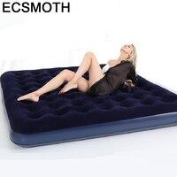 Para casa conjunto de móveis de viagem ao ar livre meuble quarto chambre mueble de dormitorio iluminado cama de móveis de quarto casa inflável|Camas|   -