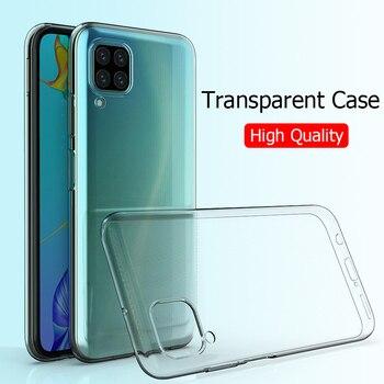 For Huawei P40 Lite Case Slim Soft Transparent High Clear TPU Phone Cases For Huawei P40 Lite E P40Lite E P30 Lite P20 Lite Pro фото