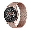 Ремешок магнитный для Samsung Galaxy watch 46 мм 42 мм Active 2/amazfit GTS/GTR, браслет для Huawei watch GT/2/2e/pro, 20 мм 22 мм