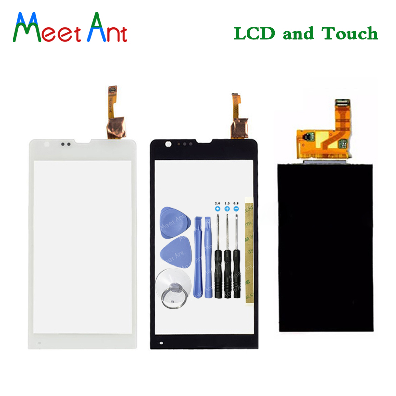 New High Quality 4.6'' For Sony Xperia SP M35h M35 M35i C5302 C5303 Lcd Display With Touch Screen Digitizer Sensor