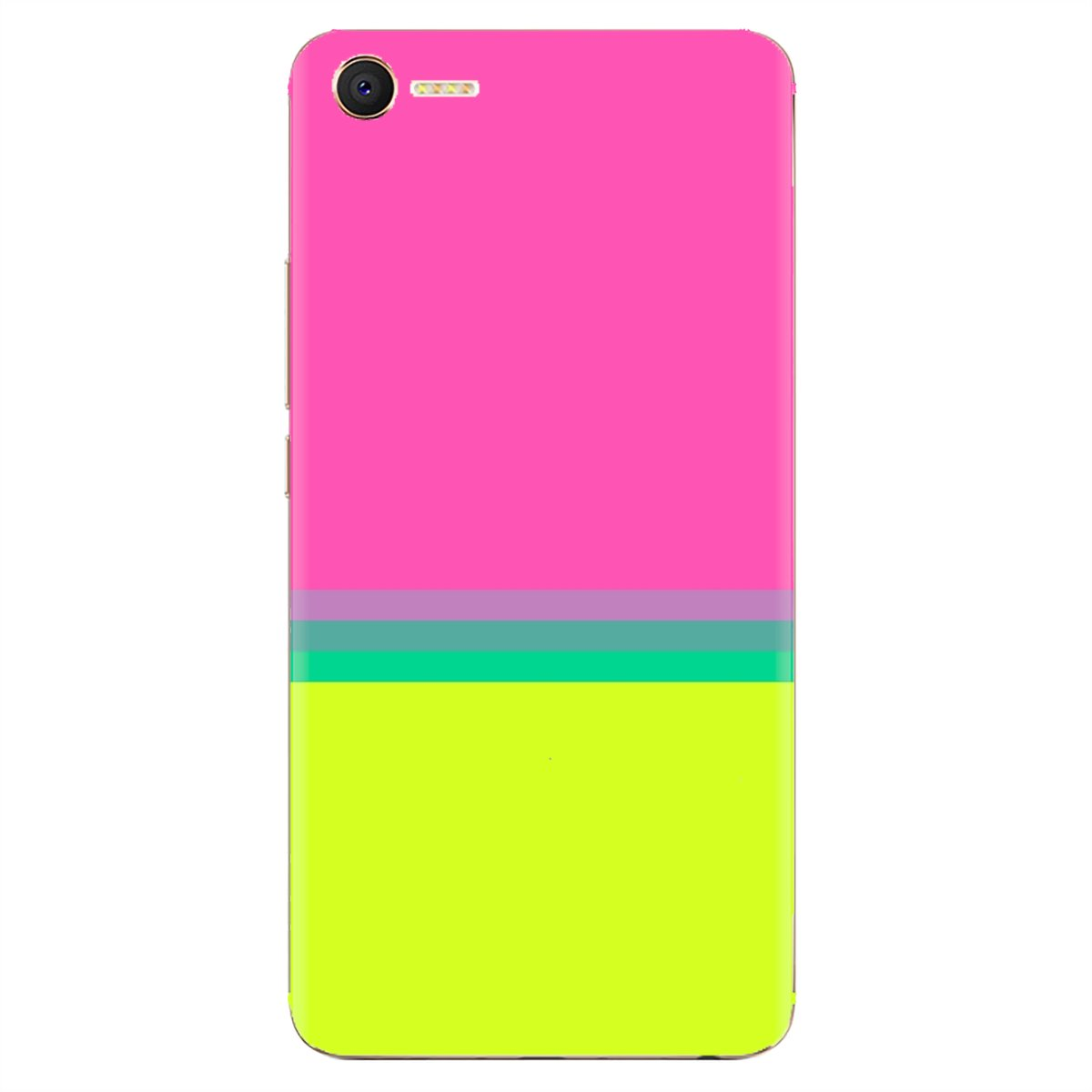 For LG G2 G3 G4 Mini G5 G6 G7 Q6 Q7 Q8 Q9 V10 V20 V30 X Power 2 3 Spirit Customize Silicone Phone Case Pink And Yellow Wallpaper