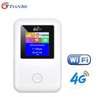 TIANJIE MF902 Alta Velocidade desbloqueado 3G 4G wi-fi router modem GSM UMTS WCDMA LTE FDD TDD catfi sim carro cartão de wifi router wi-fi car