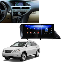 LiisLee Car Multimedia Player GPS Audio Radio For Lexus RX 350 AL10 2009~2011 Android upgrade HD Display NAVI