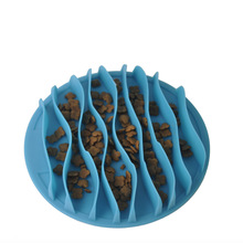 Dog Bowls Feeder Slow Eating Pet Bowl Eco-Friendly Durable Non-Toxic Preventing Choking Healthy Design for Cat