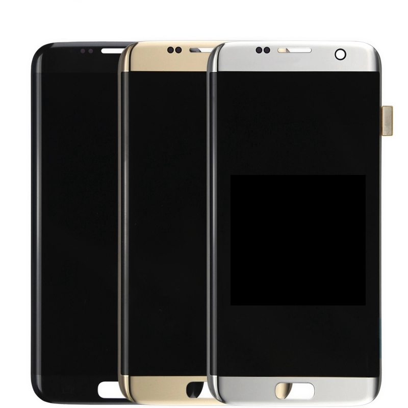100% Original LCD Screen For <font><b>Samsung</b></font> <font><b>Galaxy</b></font> <font><b>S7</b></font> edge LCD <font><b>Display</b></font> G935F SM-G935FD Touch Screen Digitizer Assembly With Frame image