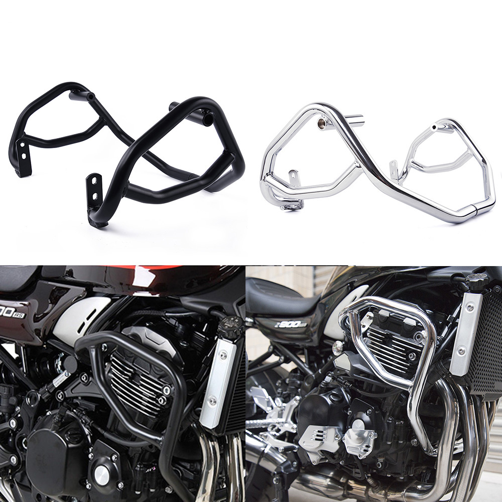 MOTORCYCLE Crash Bar Engine Highway Bumper Guard Frame Sliders Protector Damaged Accessories For 2018-2020 Kawasaki Z900RS