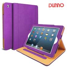 DUNNO Case for iPad 2 3 4, Premium Leather Folio Case, Multi-Angle Viewing Stand, Smart Cover with Auto Sleep/Wake Feature(China)