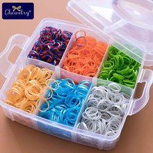 1800pc DIY Toys Rubber Loom Bands Set Kid DIY Bracelet Silicone Rubber Bands Elastic Rainbow Weave Loom Bands Toy Children Goods наборы для поделок loom bands резинки для плетения