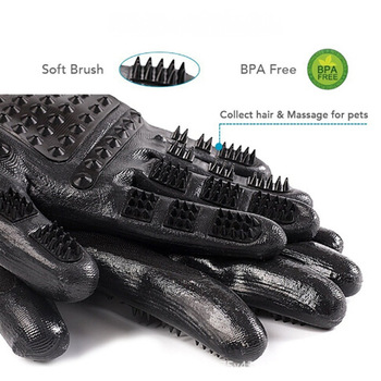 Massage Gloves for Long/Short Hair 4