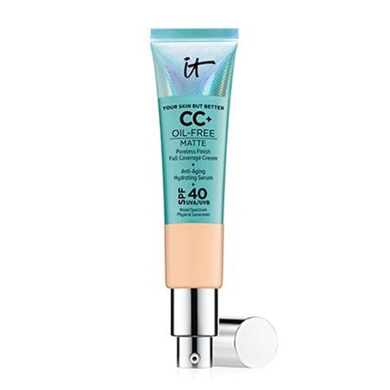 Face Concealer It Cosmetics Matte Oil-Control Cream Makeup Base Full Cover Dark Circle Eyes SPF 40 Brighten Skin CC+ Cream
