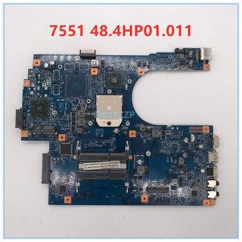 Placa base para ordenador portátil Acer aspire 7551 7551G JE70-DN 48.4HP01.011 09929-1 DDR3 100% que funciona bien