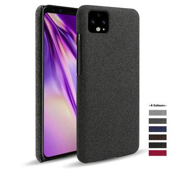 For Google pixel 4a case 5G Cloth texture Woven Cover Antiskid Febric Fundas for 3 3A 3XL 4 4XL 2 Coque for Google pixel 5 case