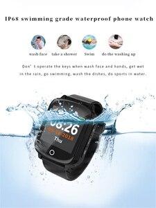 Image 2 - D200 D200SE חכם שעון GPS Tracker Locator הבכור נשים גברים Smartwatch עם סתיו הגנת לב קצב דם לחץ SOS