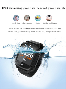 Image 2 - D200 D200SE Smart Watch GPS Tracker Locator for Elder Women Men Smartwatch with Fall protection Heart Rate Blood Pressure SOS