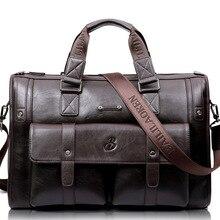 LEINASEN Marke Hohe Kapazität Männer aktentasche Business Messenger Handtaschen Männer Taschen Laptop Handtasche Tasche männer Reisetaschen Hochwertige