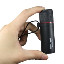 10X25 Hd Monocular Professional Telescope Focus Green Film Pocket Spyglass цена и фото