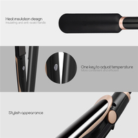 2 In 1 Professional Hair Straightener Curler Ionic Infrared Flat Iron Hair Curling Iron LCD Display Ceramic Styling Tool 3