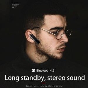 Image 3 - ミニの bluetooth イヤホンハンズフリーヘッドホンで blutooth ステレオ auriculares イヤフォンヘッドセット電話 earhuds
