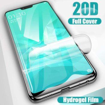 Перейти на Алиэкспресс и купить 20D мягкая Гидрогелевая пленка с полным покрытием для Huawei Honor 6C Pro 4C 5C 8X 7X 6X 5X 4X 3X Max, защита для экрана, не закаленное стекло