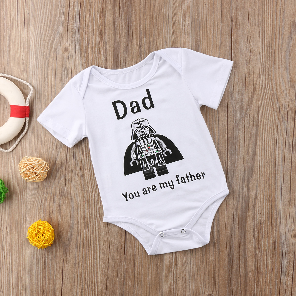 Summer Newborn Infant Toddler Baby Boy Clothes Bodysuits Cartoon Star War Bodysuit Jumpsuit Outfit Clothes