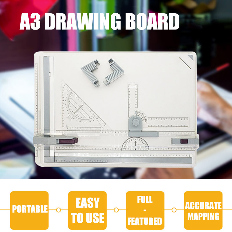 Professional A3 Drawing Table Technical Board With Drawing Head Machine PUO88
