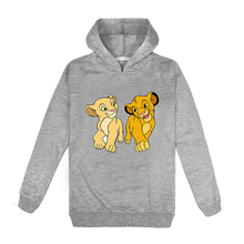 Kids Hoodies King Lion Sweatshirts Toddler Baby Clothing Boys Girl clothes 2020 spring Top  Cotton Children's Pullover Fashion