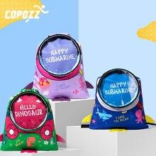 COPOZZ Outdoor Portable kids waterproof Dry swimming bag Rafting Diving Backpack Sack TPU Drawstring sports Bags