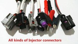 Image 1 - Conectores para o bocal diesel do injetor do trilho comum, conectores do bocal do injetor para o caminhão, conectores piezo do injetor