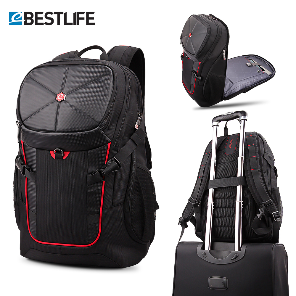 BESTLIFE 3D Travel Backpack Large Capacity 17.3 Laptop Bag For Men Women Gaming Climing Waterproof Rucksack Mochila 36L