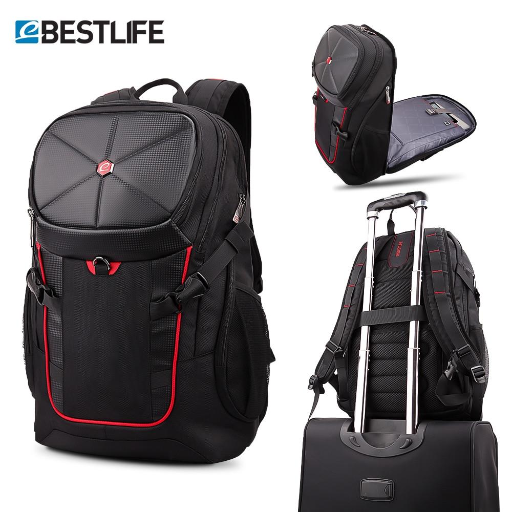 BESTLIFE 3D podróży plecak duża pojemność 17.3 torba na laptopa dla kobiet mężczyzn do gier wspinaczka plecak wodoodporny plecak Mochila 36L w Plecaki od Bagaże i torby na  Grupa 1