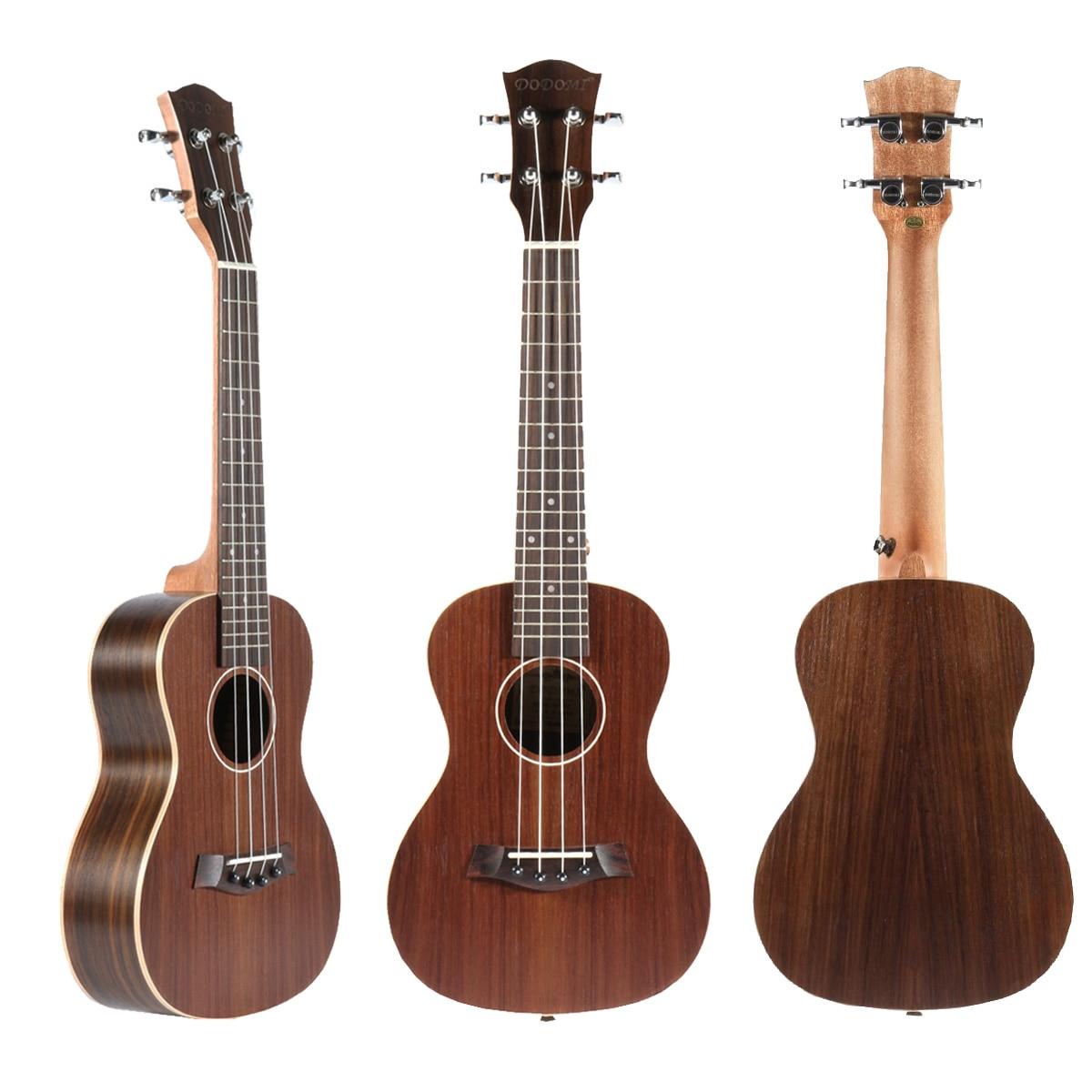 Rosewood 23 Inch 4 Strings Fretboard Concert Ukulele Electric Guitar Guitarra For Musical Stringed Instruments Lovers