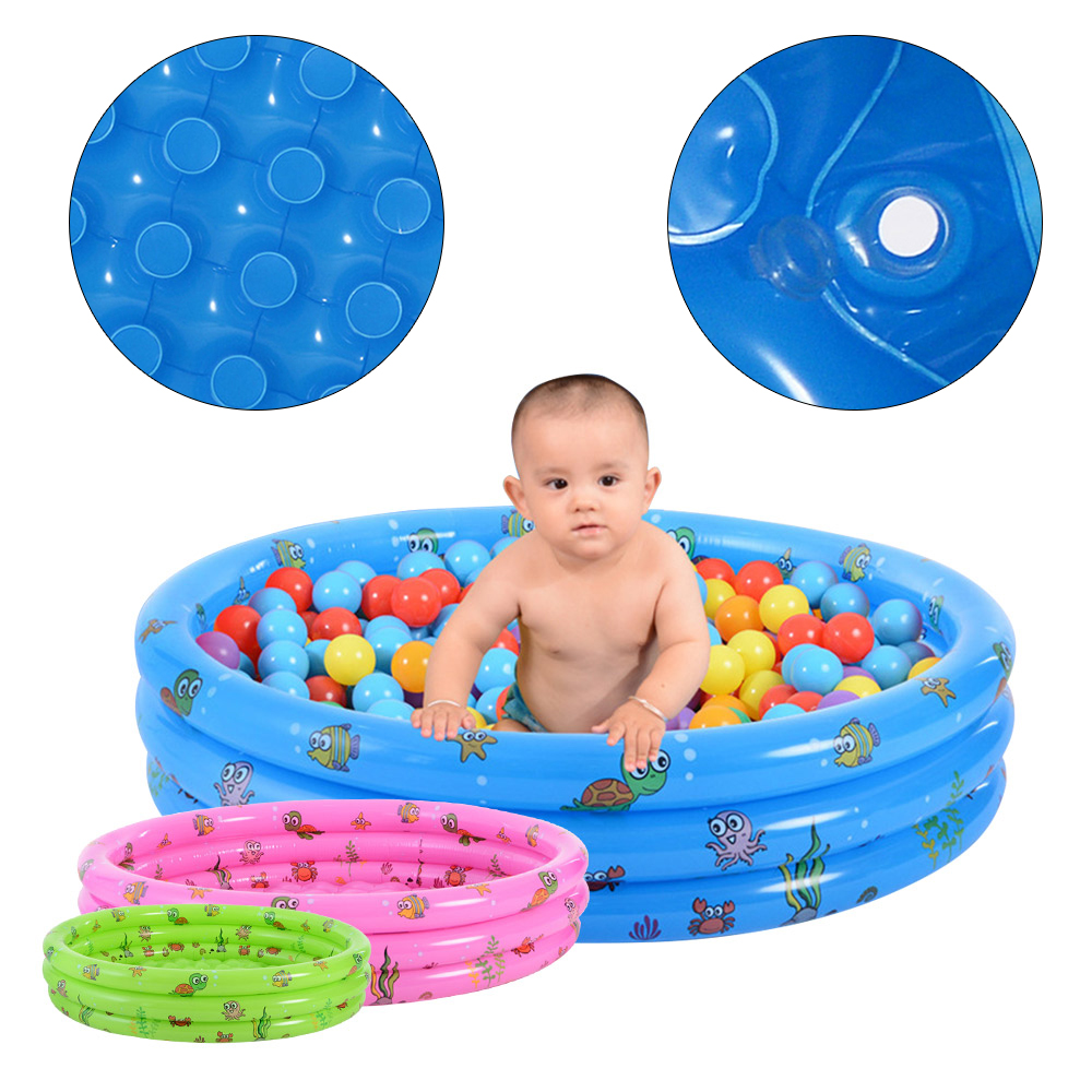 Inflatable Baby Swimming Pool Crocks Portable Piscine Outdoor Kids Inflatable Pools Ocean Balls Dry Pool For Children's Pools