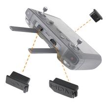 3 قطعة/المجموعة سيليكون الغبار التوصيل ل DJI جهاز تحكم ذكي HDMI/USB/نوع C واجهة الغبار التوصيل غطاء ل DJI Mavic 2 اكسسوارات