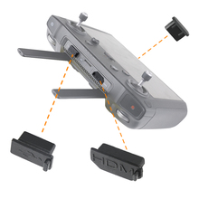 3pcs/set Silicone Dust Plug for DJI Smart Controller HDMI/USB/Type C Interface Dust Plug Cover for DJI Mavic 2 Accessories
