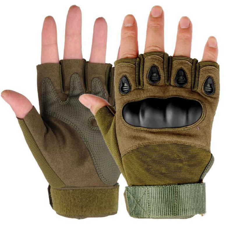 Half Finger Fishing Gloves For Cycling MTB Bike Tactical Hunting Camping Outdoor Sporting Fitness Gloves Fishing Accessories|Fishing Gloves| |  - title=