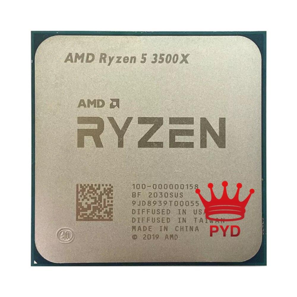 Процессор AMD Ryzen 5 3500X R5 3500X 3,6 ГГц шестиядерный шестипоточный процессор 7NM 65 Вт L3 = 32M 100-000000158 разъем AM4 без вентилятора