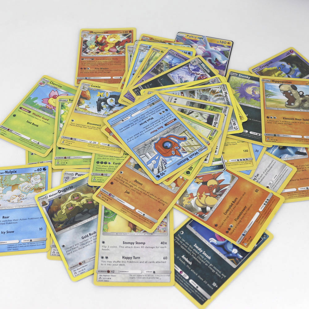 42pcs set Shining Pokemon VIP Cards for Children Toy Collections Card Bling Bling Metal Boxed Flash Card in Game Collection Cards from Toys Hobbies