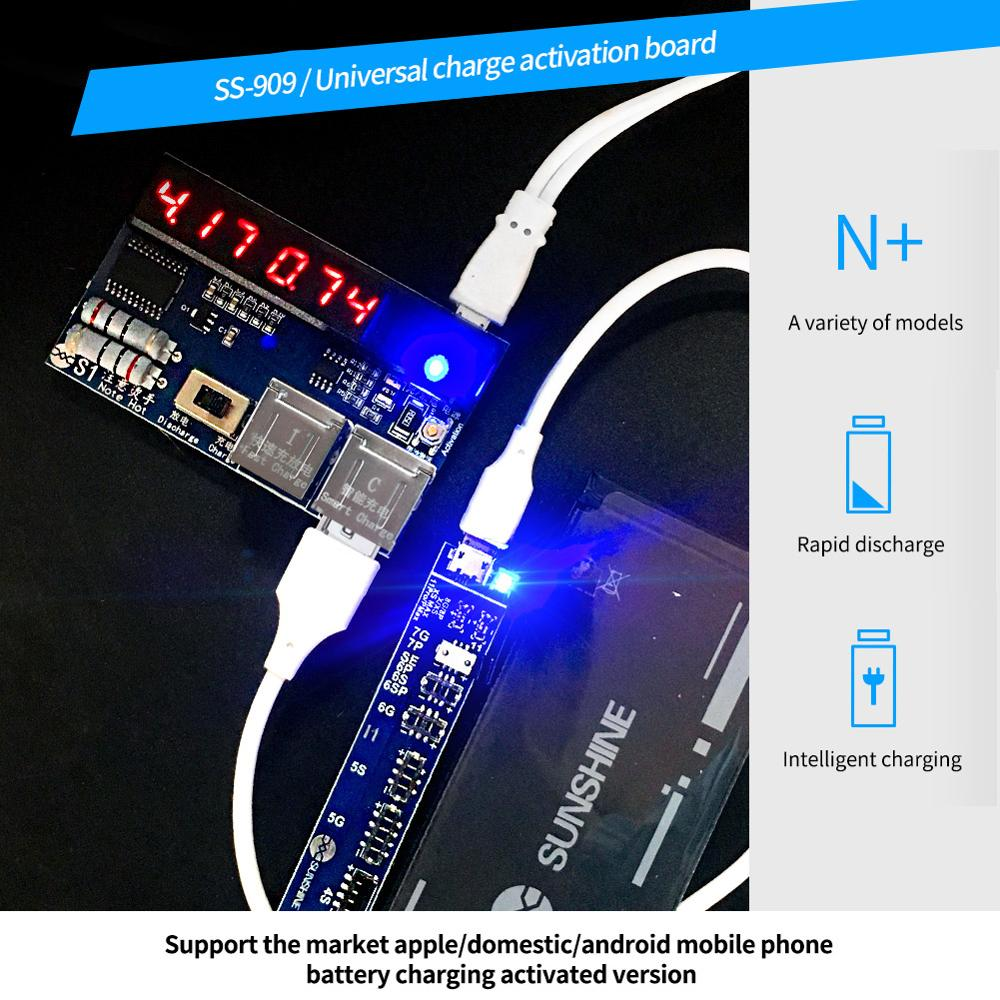 Image 5 - DIYFIX Universal Phone Battery Fast Charging and Activation Board for iPhone Samsung for China Smartphone Repair Tool SetHand Tool Sets   -