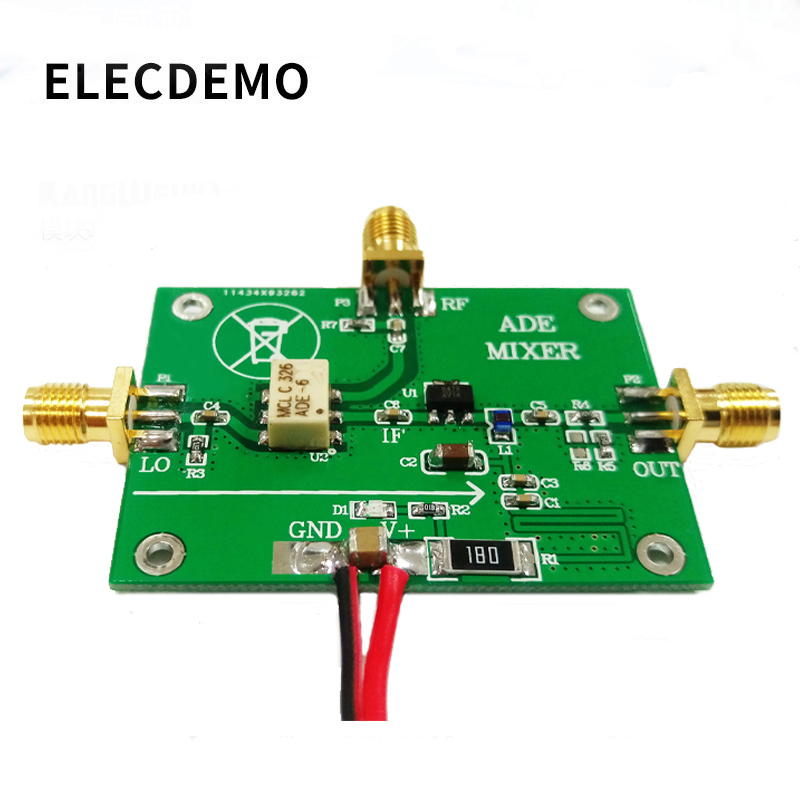 RF ADE-6 Passive Mixer Module Upconverting Downconverting 0.05M-250MHz Original MINI Device Design Function Demo Board